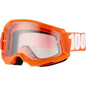 100% Strata Anti-Fog Goggles Gen2 Youth, orange